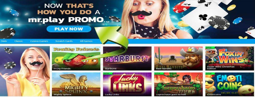 legaal online gokken Mr Play