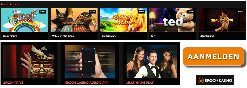 legaal online gokken kroon casino