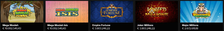 online gokkasten hoogste jackpots